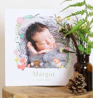Livre de naissance Bois des merveilles