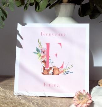 Livre de naissance Fleur des bois